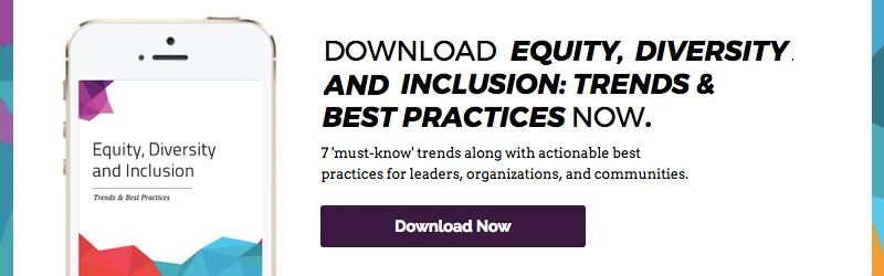 Download the eBook: Equity, Diversity & Inclusion Trends