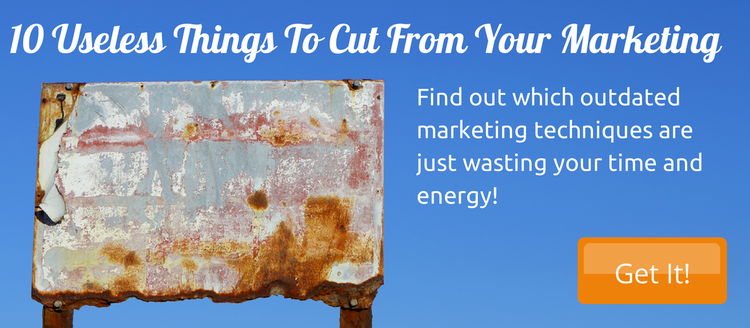 CTA 10 Useless things to cut from your marketing