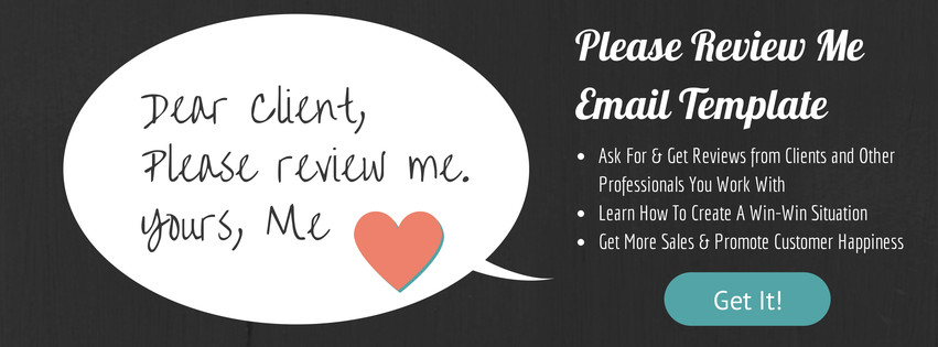 Please review me email template