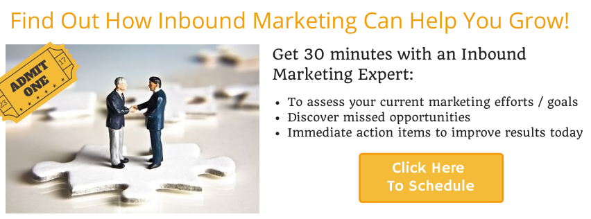 Schedule your Inbound Marketing Assessment Today!