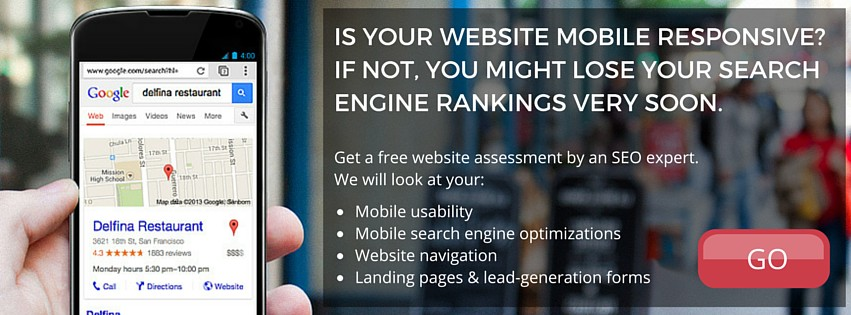 Mobile Website Assessment CTA