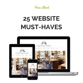 free ebook: 25 Website Must Haves