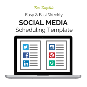 Social Media Scheduling Cheat Sheet