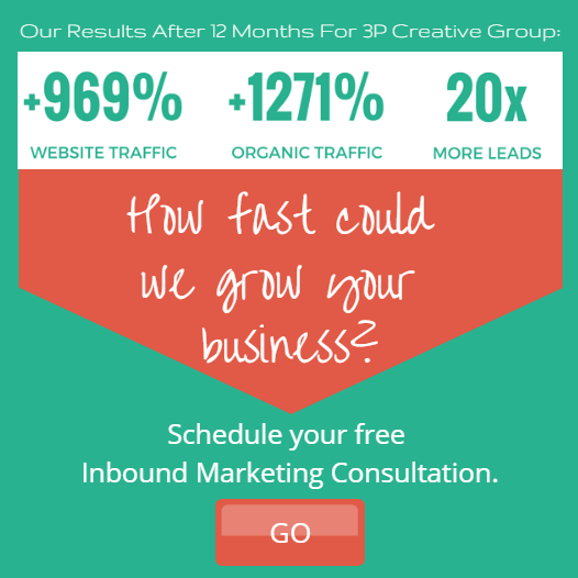 Click here to schedule a free Inbound Marketing conlutation