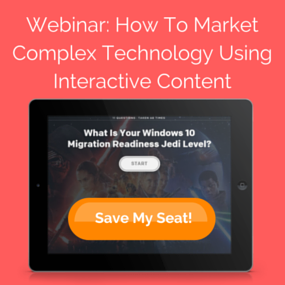 Click here to sign up for the Interactive Content Webinar