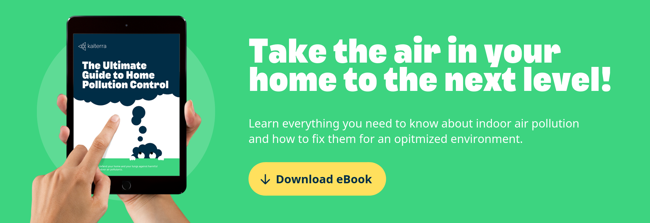 Download the ultimate guide to home pollution control