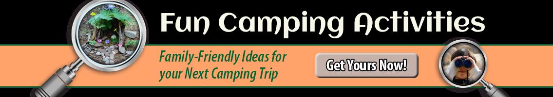Fun camping activity ideas