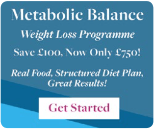 Save £100 on Metabolic Balance Weight Loss Programme!