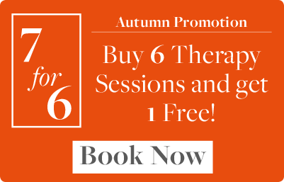 Autumn Promotion - Buy 6 Therapy Sessions and get 1 Free!