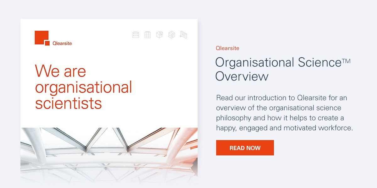 Qlearsite Organisational Science Overview