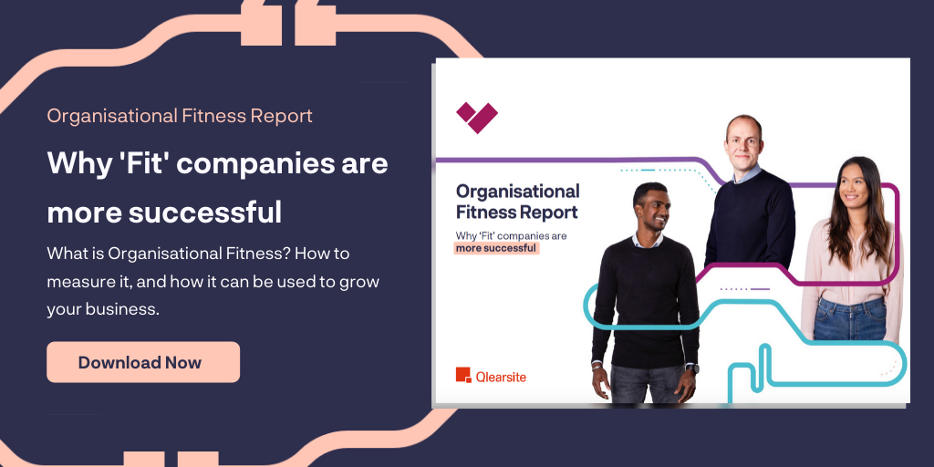 Download our Organisational Fitness Report