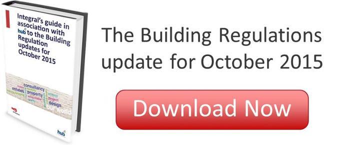 The Building Regulations Update for October 2015