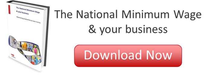 The National Minimum Wage and your business - maximising productivity to save money