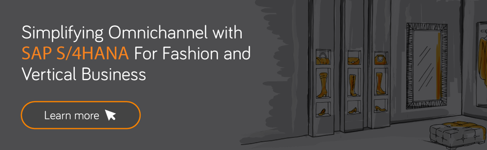 SAP S/4HANA Fashion Use Cases
