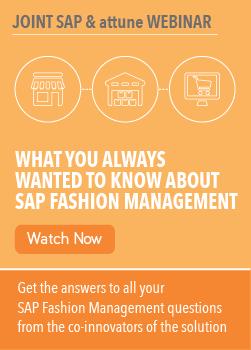 sap fashion management webinar