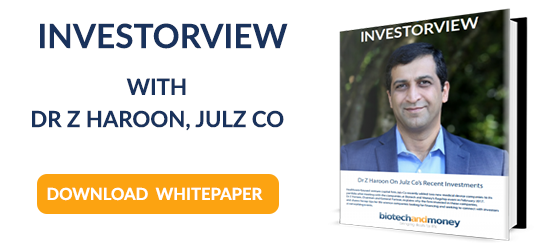 DOWNLOAD THE INVESTORVIEW WHITEPAPER: JULZ CO'S DR Z HAROON