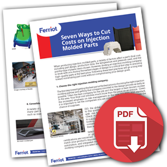 """Click here to download """"Seven Ways to Cut Costs on Injection Molded Parts"""""""