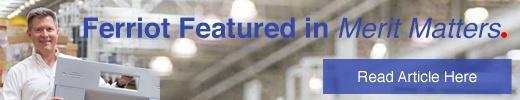 Ferriot featured in Merit Matters