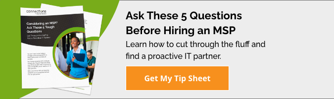 Ask These 5 Questions Before Hiring an MSP