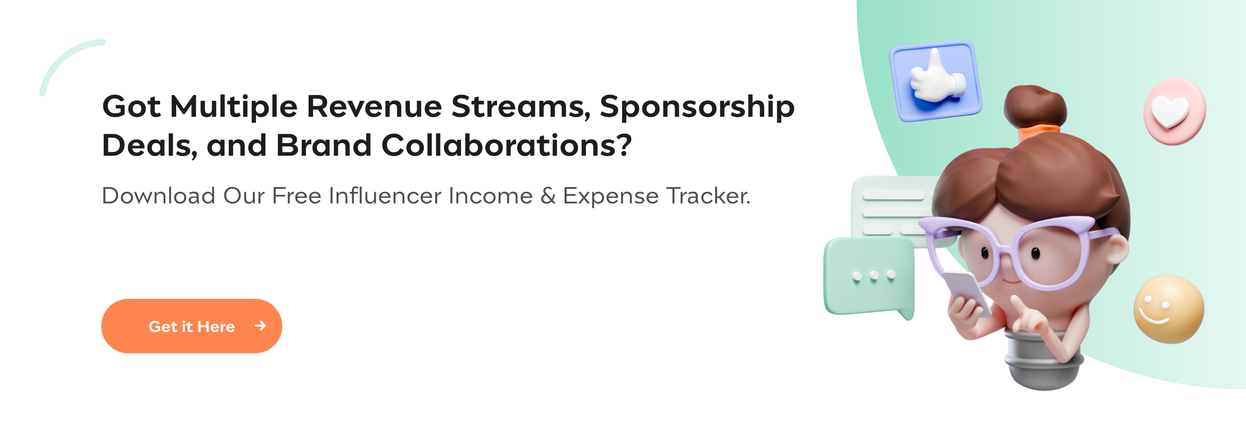 Influencer Income and Expense Tracker   Incfile