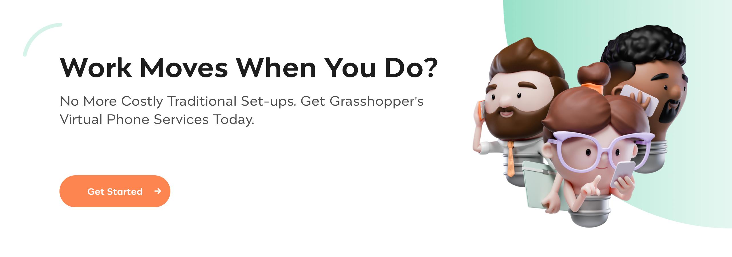 Incfile | Virtual Phone | Grass Hopper