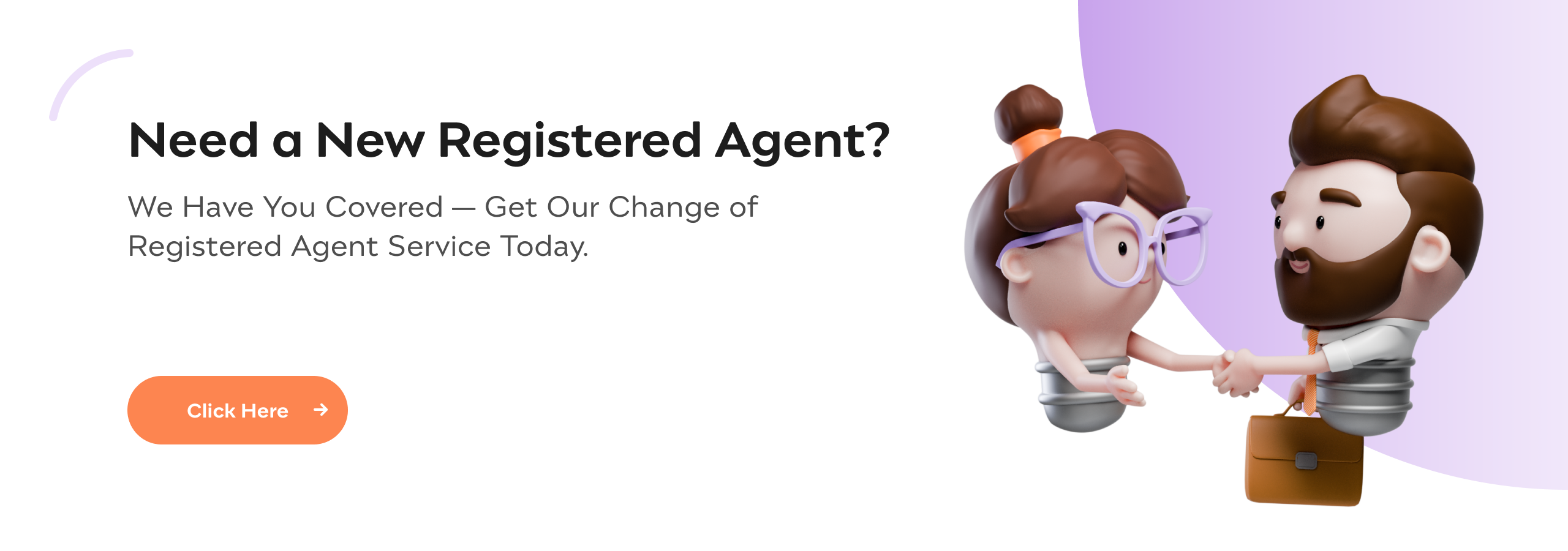 Incfile | Change of Registered Agent Service | Incfile