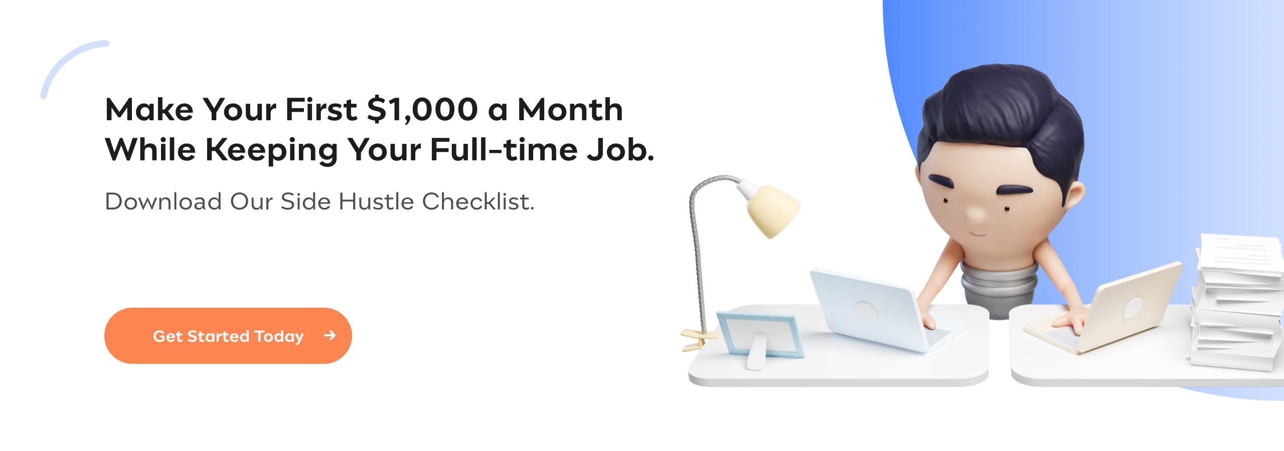 Incfile | Side Hustle Checklist