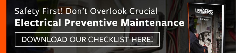 Electrical Preventive Maintenance Checklist