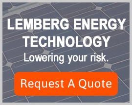 image: Lemberg Energy Technology, Lowering your risk. Request a quote