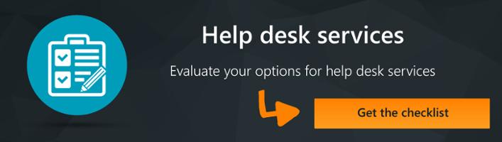 Help desk service providers