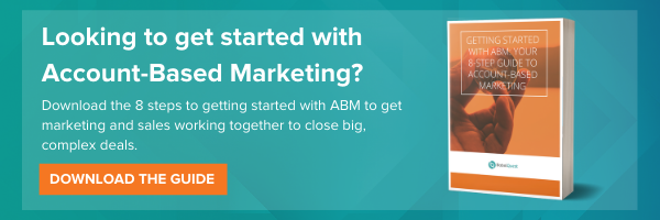 Get started with account-based marketing