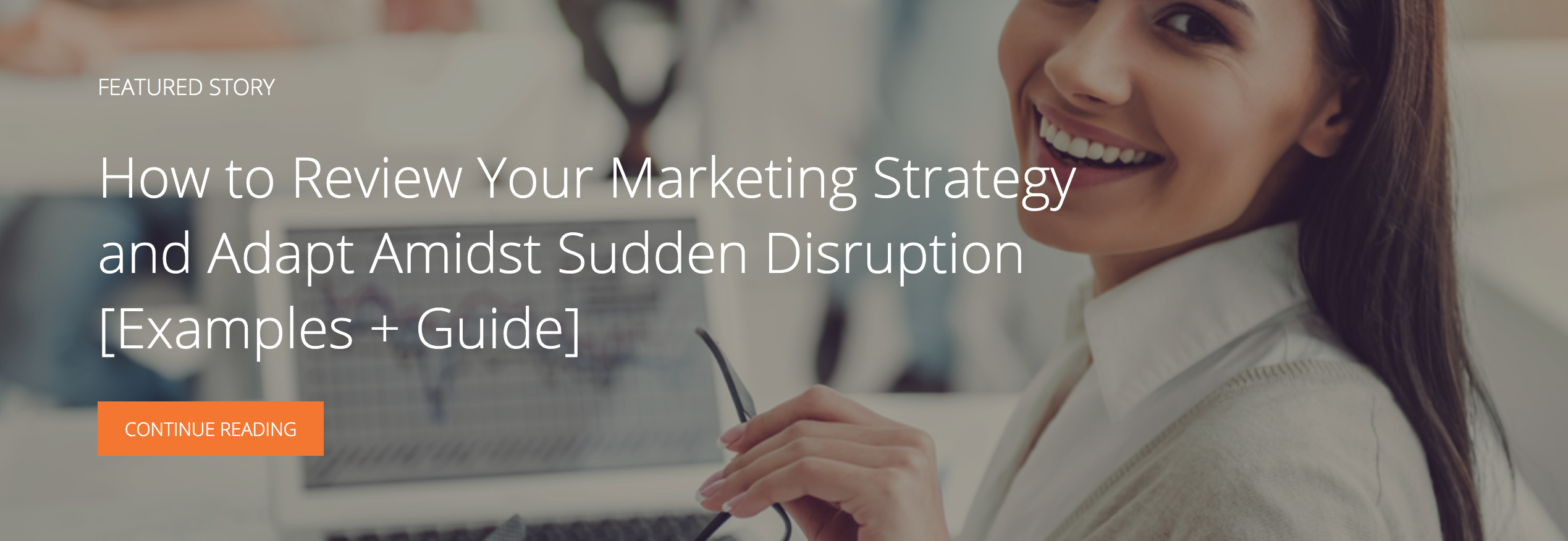 how to review your marketing strategy and adapt amidst sudden disruption