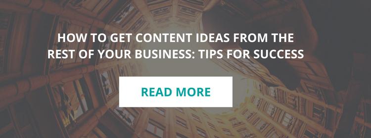 Blog Content Idea Generation