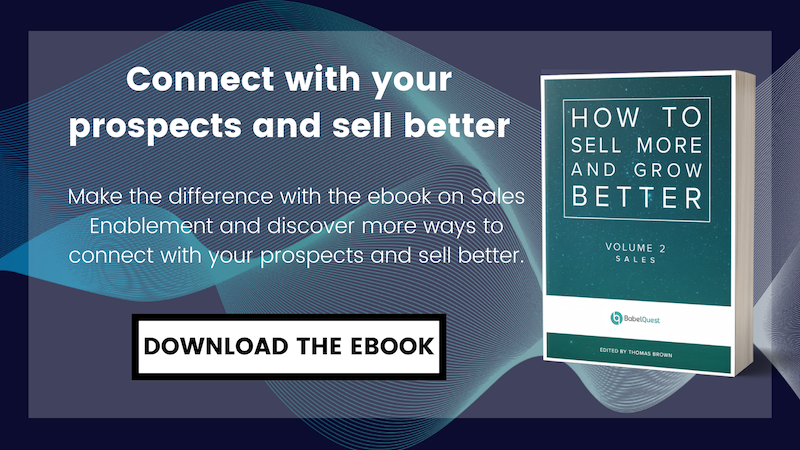 Download the ebook 'How to Sell more and Grow better' on Sales Enablement