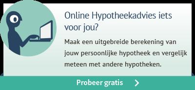 Probeer gratis ons Online Hypotheekadvies!