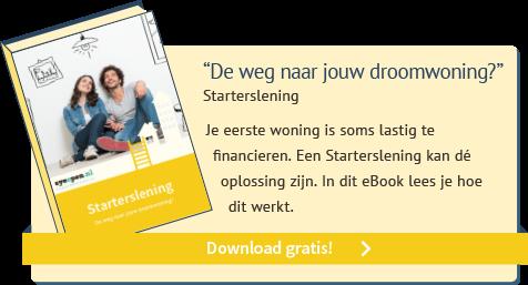 Download eBook Starterslening: de weg naar jouw droomwoning?