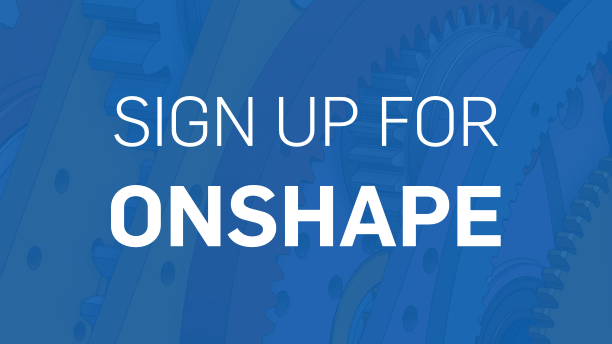 Sign up for Onshape