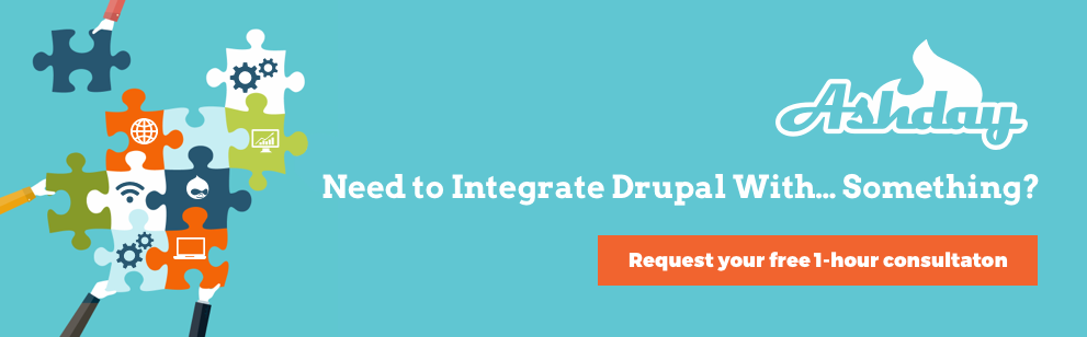 If you need to integrate Drupal with anything, talk to us! We can integrate just about anything with Drupal