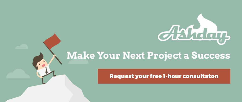 Offer for a free one-hour consultation, make you next project a success