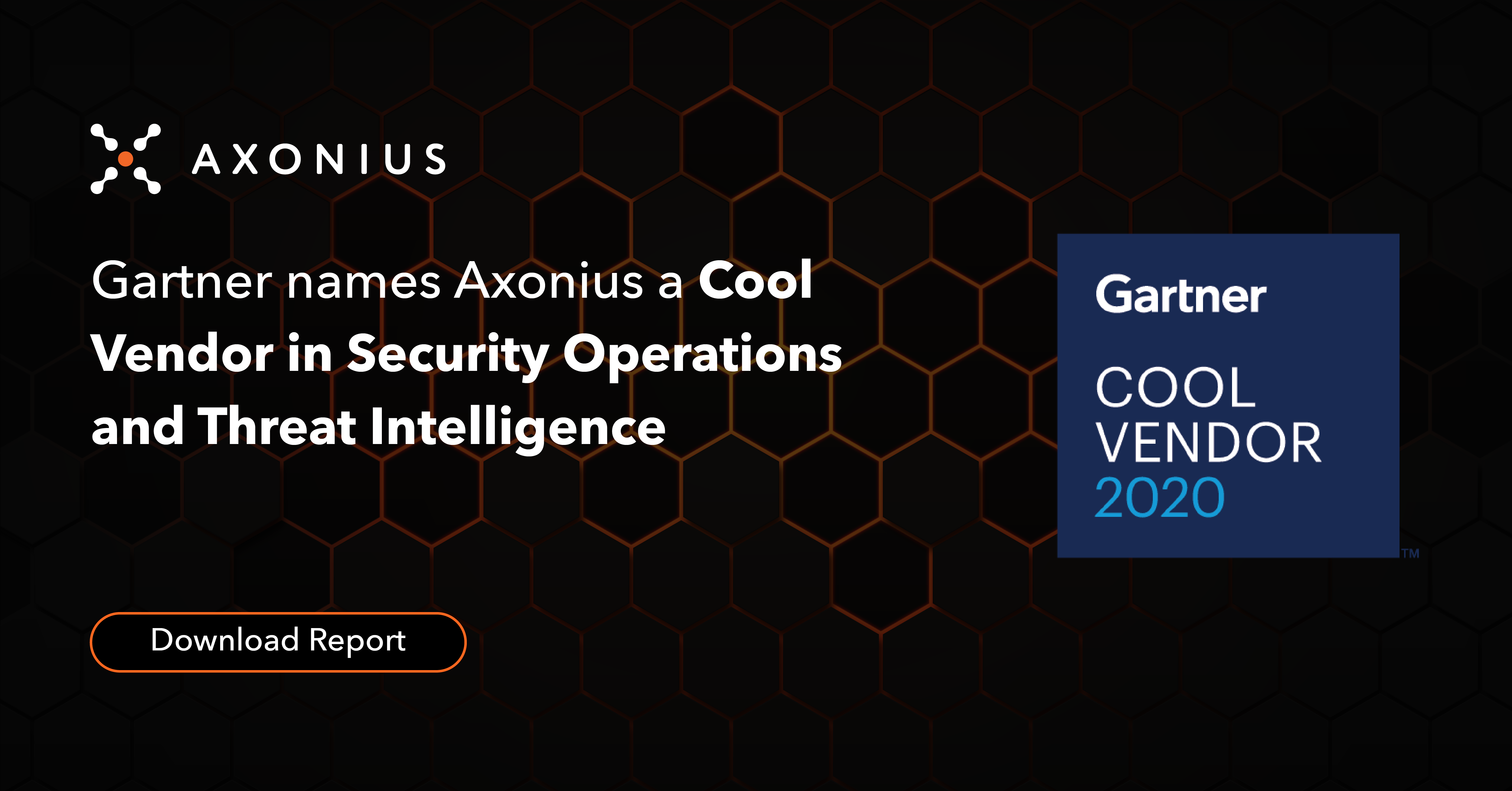 Axonius named Gartner Cool Vendor Security Operations and Threat Intelligence 2020