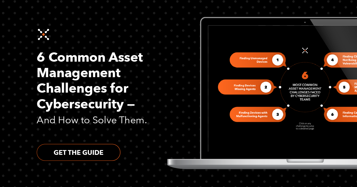6 Common Asset Management Challenges for Cybersecurity Ebook