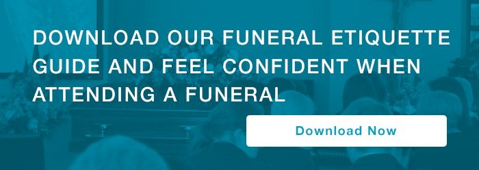 funeral etiquette guide call to action