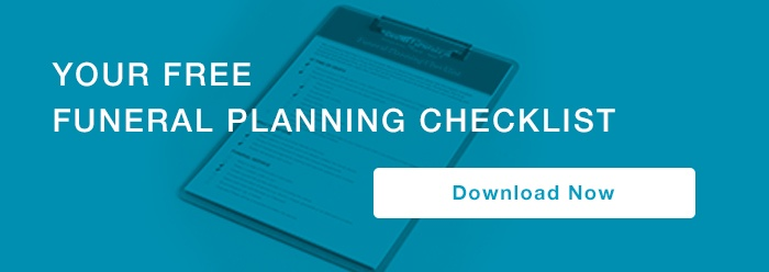 funeral planning checklist call to action