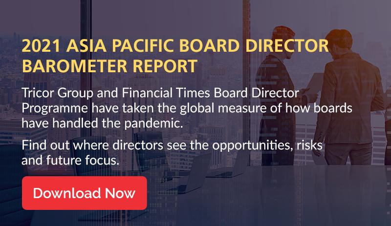 2021 Asia Pacific Board Director Barometer Report