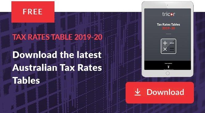 Australian Tax Rates Tables 2019-20