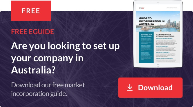 Set up your company in Australia