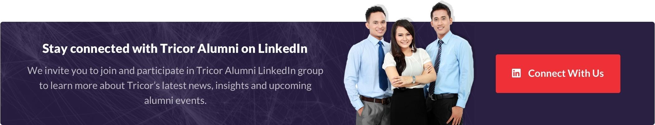 Tricor Alumni LinkedIn