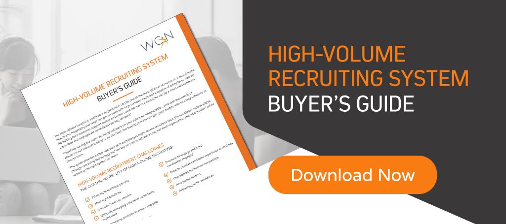 high-volume recruiting