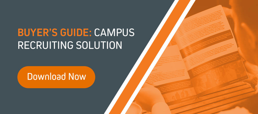 campus recruiting solution CTA