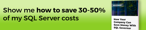 How to save up to 50% of SQL Server costs
